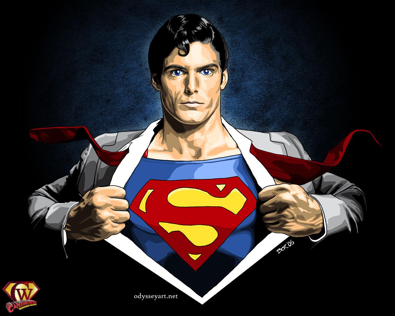 superman vorlage malen