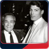 Jack Larson and Christopher Reeve.