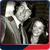Christopher Reeve and girlfriend Gae Exton in 1979.