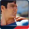 A re-created TOPPS Superman-The Movie gum card by Sebastian Colombo.