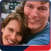 Chris and Dana Reeve.