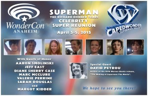 CapedWonder WonderCon 2015 banner.