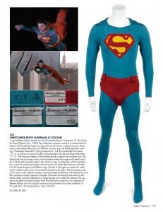 Julien's Superman IV flying costume November 2012 auction.