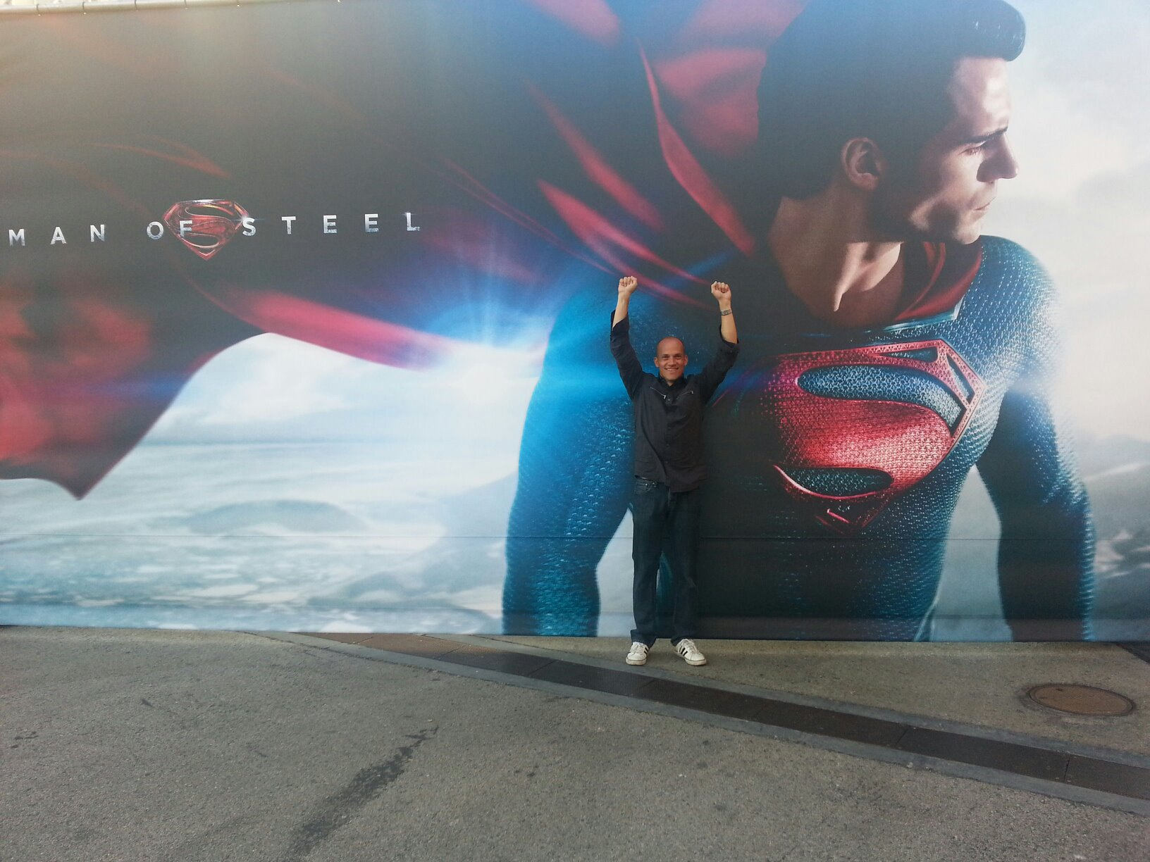 Superman hoodies for couples images amp pictures becuo - Aaron Smolinski Stars In Man Of Steel