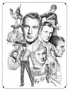 Gary Cooper by Nacho Castro.