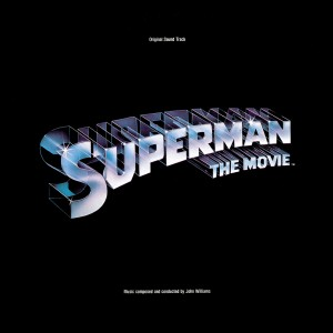 Superman-The Movie LP front cover