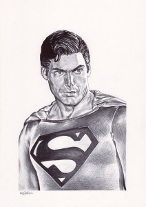 Copyright Christopher Hack. All Rights Reserved. Photo reference from Superman III.