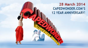 Happy 12th Annivdersary CapedWonder.com!