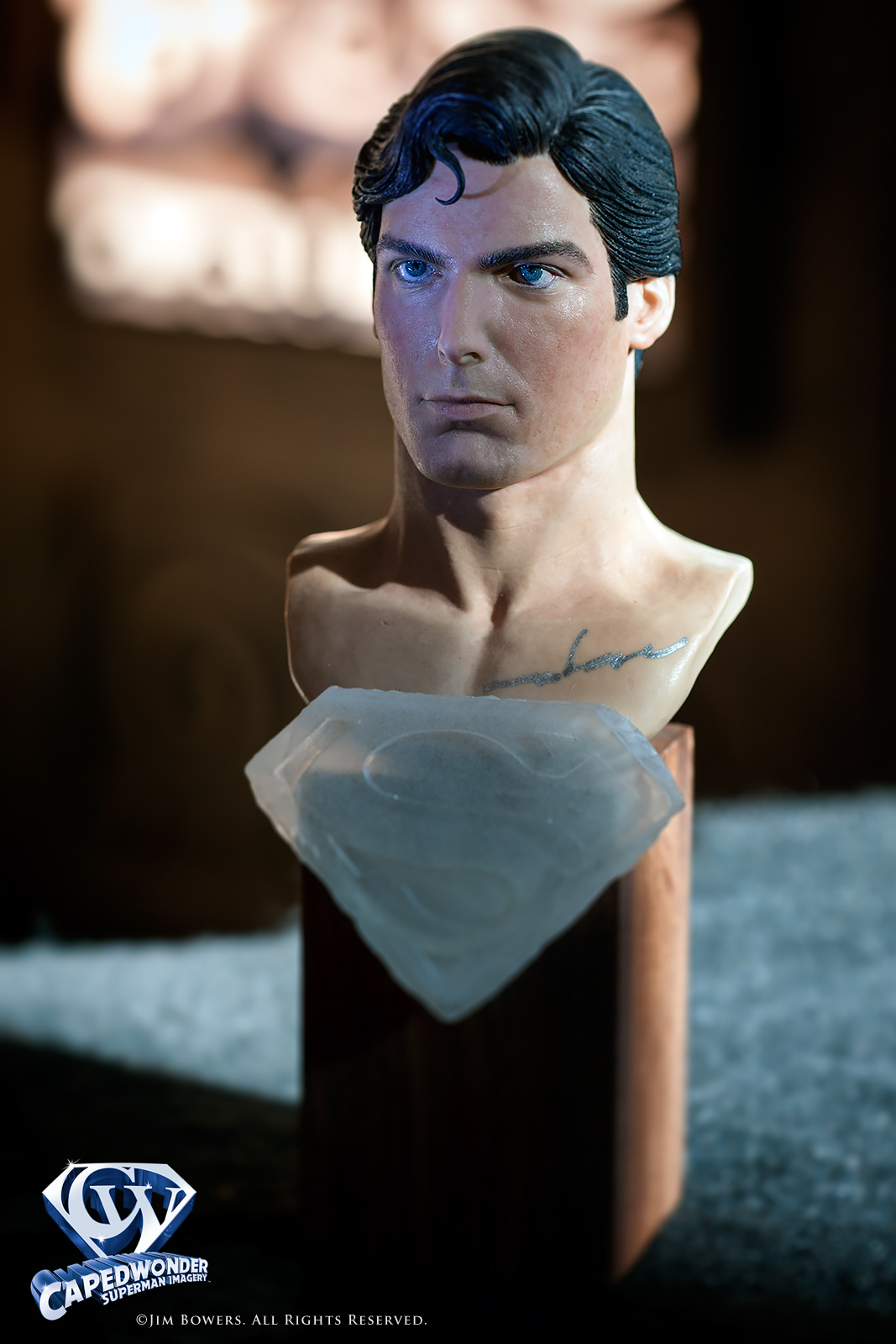 CW-Arnie-Kim-1-4-Christopher-Reeve-Superman-bust