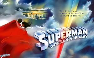 Superman-The Movie 34th Anniversary wallpaper.