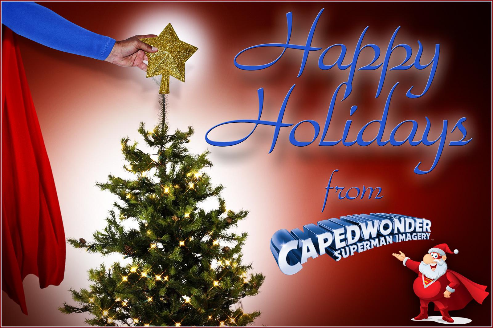 Happy Holidays from CapedWonder.com!