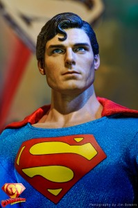Hot Toys Christopher Reeve Superman figure photo Copyright Jim Bowers.