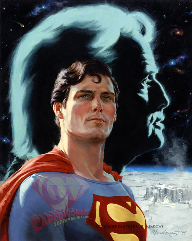 CW-Meadows-Reeve-Superman-painting-Son-of-Krypton