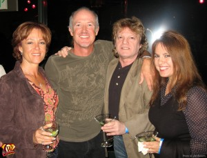 Marc McClure and wife, Ilya Salkind and girfriend.