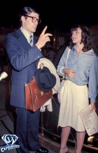 1977MARGOT KIDDER AND CHRISTOPHER REEVEPHOTO BY BOB DEUTSCH/GLOBE PHOTOS