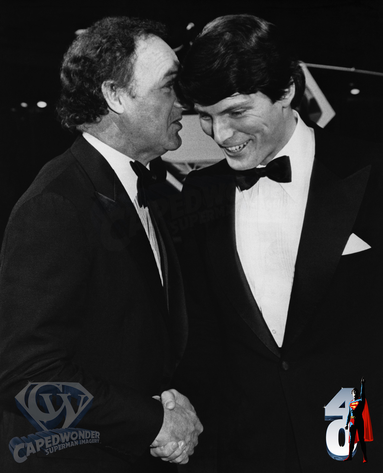 CW-STM-Hollywood-premiere-Dec-14-78-Reeve-Hackman-shaking-hands