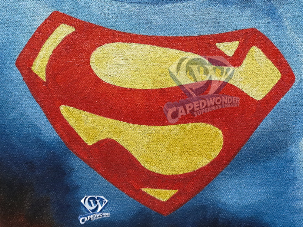 CW-STM-Reeve-Superman-flag-painting-Meadows-1-2