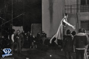 An unrestored photo from the prison scene in 'Superman-The Movie'.
