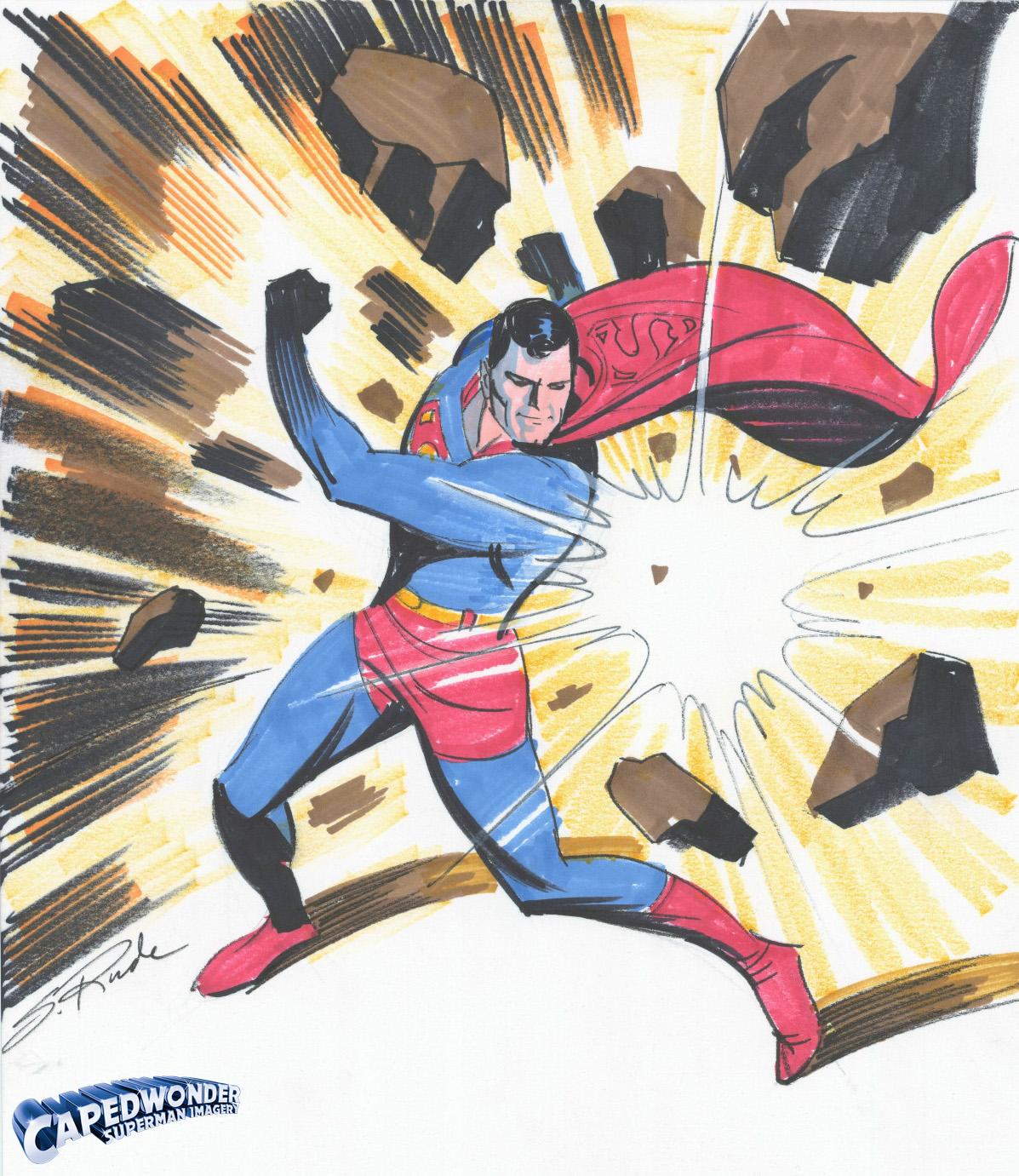 CW-Steve-Rude-Superman-original-art