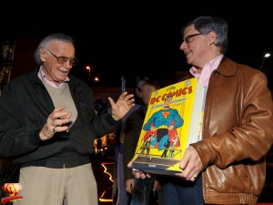 Stan Lee and Paul Levitz