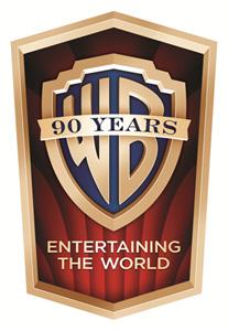 Warner Bros.' 90th Anniversary logo.