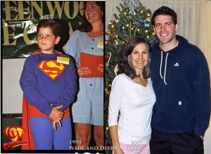 Wade and Devra Murphy in 1994 and 2011.