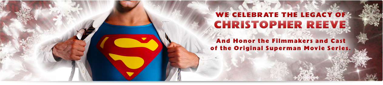Happy Holidays from CapedWonder.com! We Celebrate the Legacy of Christopher Reeve.