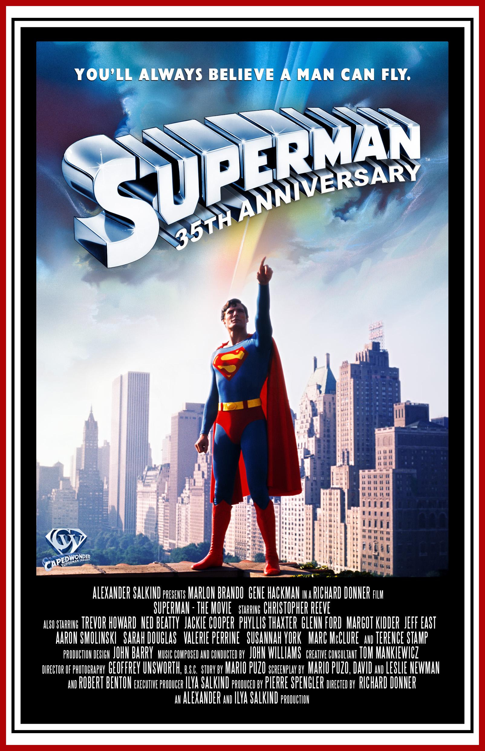 リチャード・ドナー監督のスーパーマンという映画