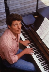 Christopher Reeve Playing Piano