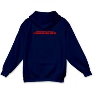 CapedWonder hoodie - back.