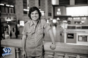 Ilya Salkind at Grand Central Station in New York City, July 1977.