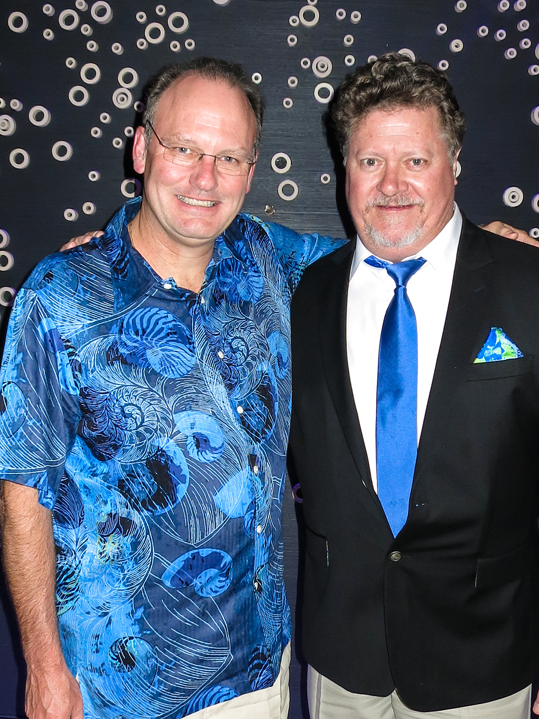 Jim Bowers and Jeff East in Las Vegas, October 21, 2014.