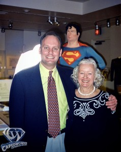 Jim Bowers and Noel Neill, 2001.