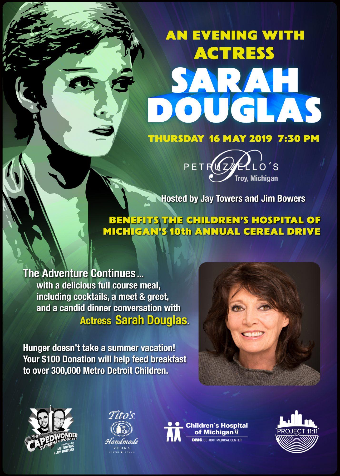 AN EVENING WITH SARAH DOUGLAS