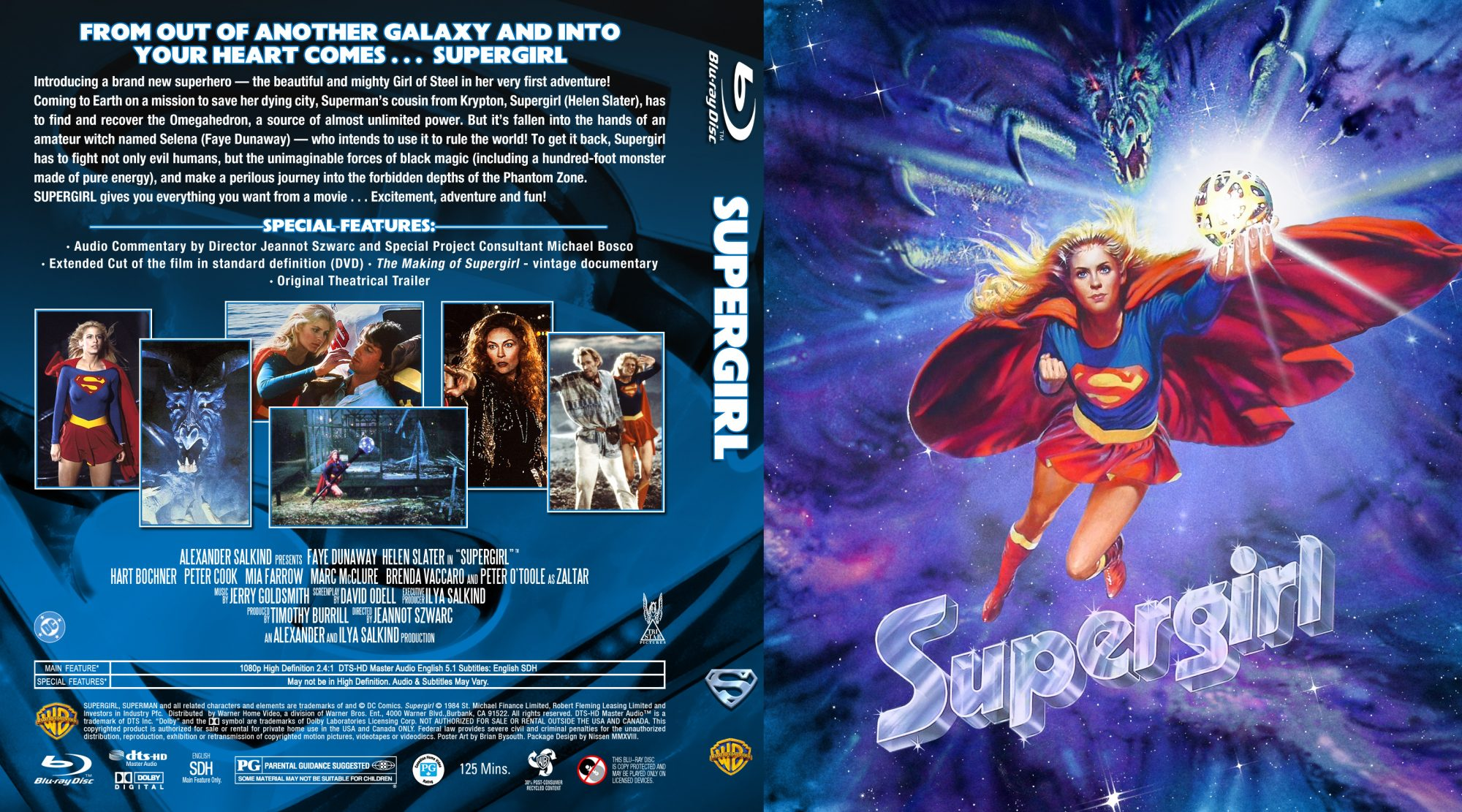 Supergirl JA Custom BD by Nissen