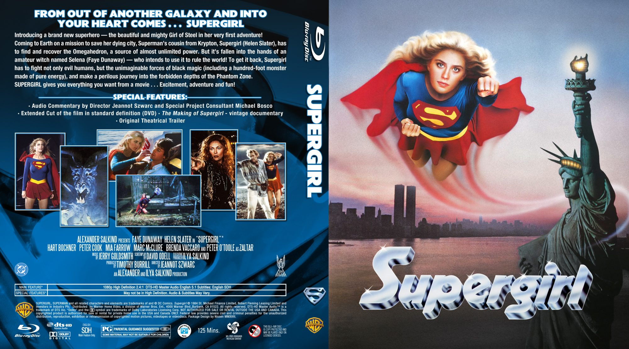 Supergirl JA Custom US poster BD by Nissen