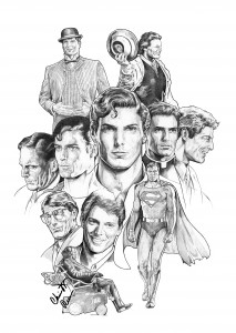 Christopher Reeve by Nacho Castro.