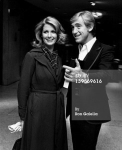 Actress Deirdre Hall and actor David Sheehan at the Superman-The Movie Presidential Premiere December 10, 1978.