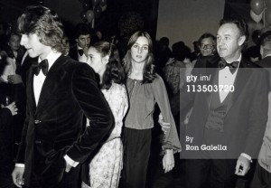 Gene Hackman and family at the Superman-The Movie Presidential Premiere December 10, 1978.