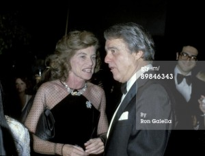 Eunice Kennedy Shriver and Sargent Shriver at the Superman-The Movie Presidential Premiere December 10, 1978.