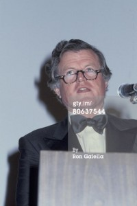 Ted Kennedy at the Superman-The Movie Presidential Premiere December 10, 1978.