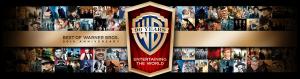 Warner Bros. 90th Anniversary banner.