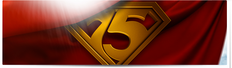 75th Birthday Superman Wallpapers!