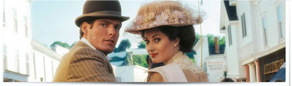 Christopher Reeve and Jane Seymour star in Somewhere in Time