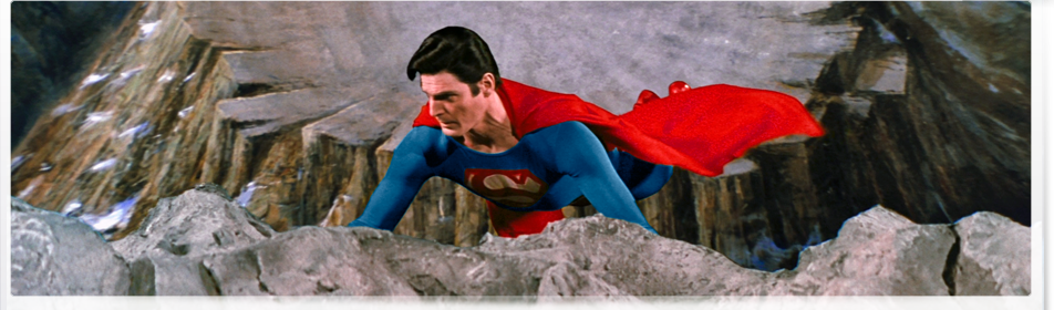 Superman IV Blu-ray screenshots.