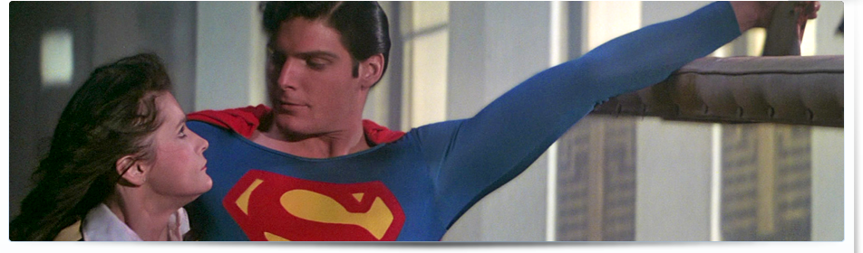 Superman saves Lois and the helicopter in Superman-The Movie