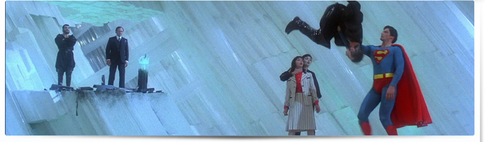 Superman II: The Richard Donner Cut Blu-ray screenshots.