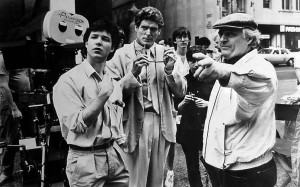 Ted Kotcheff directs George Newbern and Christopher Reeve in Switching Channels. George Newbern went on to voice Superman in