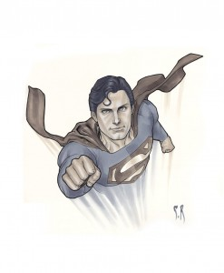 Christopher Reeve Superman Copyright Stephane Roux.