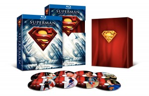 The Superman Motion Picture Anthology Blu-ray Box Set.